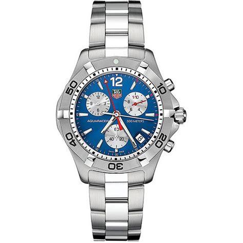 Tag Heuer Aqua Racer Quartz tag heuer aquaracer caf1112 ba0803 chronograph quartz blue mens
