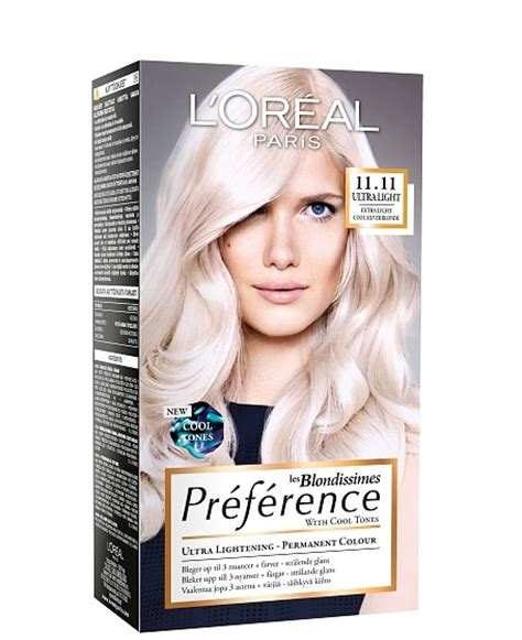 hair color preference loreal preference blondissimes ultralight silver bubblebox