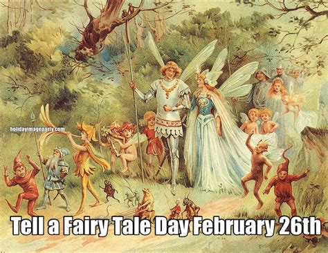 s day today was a fairytale tell a tale day february 26th tell a tale