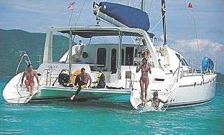 catamaran hire cayman bvi yacht charters yacht description