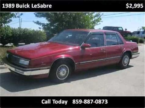 where to buy car manuals 1989 buick lesabre spare parts catalogs 1989 buick lesabre used cars nicholasville ky youtube