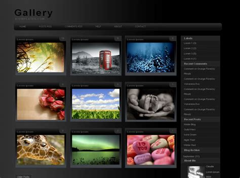 themes blogger html gallery blogger theme blogger themes and blogger templates