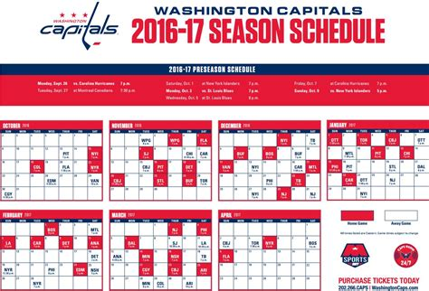 image gallery nhl schedule 2016 2017