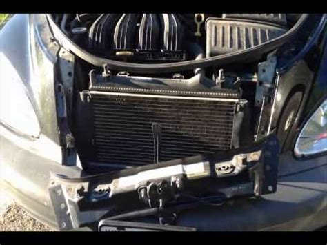 pt cruiser radiator fan pt cruiser radiator fan youtube