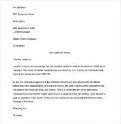 Formal Contract Template by 12 Formal Complaint Letter Templates Free Sle Exle Format Free Premium