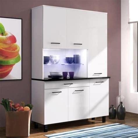 eco buffet de cuisine contemporain   cm blanc