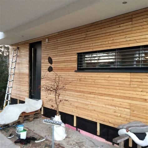 Holzverkleidung Wand Selber Machen by Holzverkleidung Fassade Selber Machen Swalif