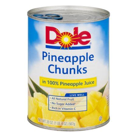 fruit 20 walmart dole pineapple chunks 20 oz walmart