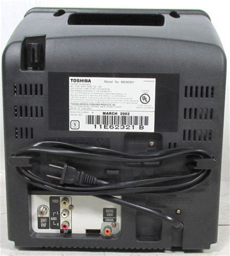 Ac Portable Merk Toshiba toshiba md9dm1 9 quot crt television portable cer rv ac dc