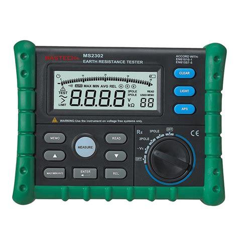 Grounding Meter aliexpress buy digital earth resistance meter