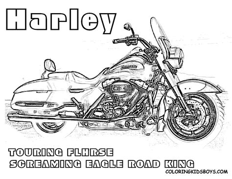 harley motorcycle coloring pages to print harley davidson logo coloring pages coloring home