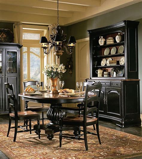 25 best ideas about black dining rooms on