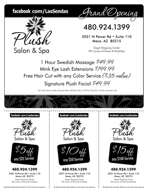 haircut coupons mesa az plush salon and spa in hair styling services near las