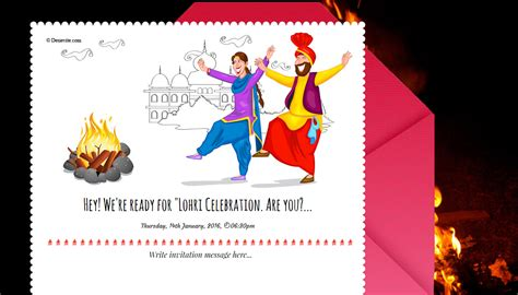 Party Invitations Online Rsvp Lohri Invitation Templates