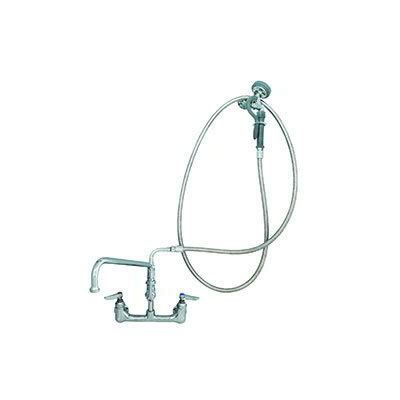 swing hose t s brass b 0175 spray unit swing spout faucet 12 in