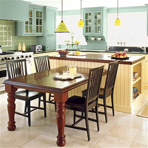 image t shaped kitchen island with seating