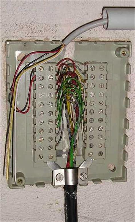 haus telefonanschluss wie meine telefonadern finden mikrocontroller net