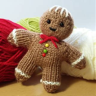 knitting pattern gingerbread man ravelry gingerbread man pattern by claire fairall designs