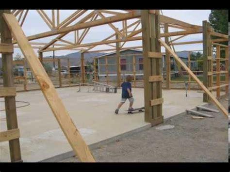 Amish Floor Plans Pole Barn Garage Youtube