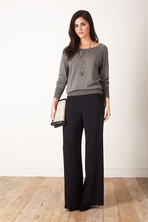 Dress Wanita Cotton Boxy shimmer raglan knit jumper sale great plains