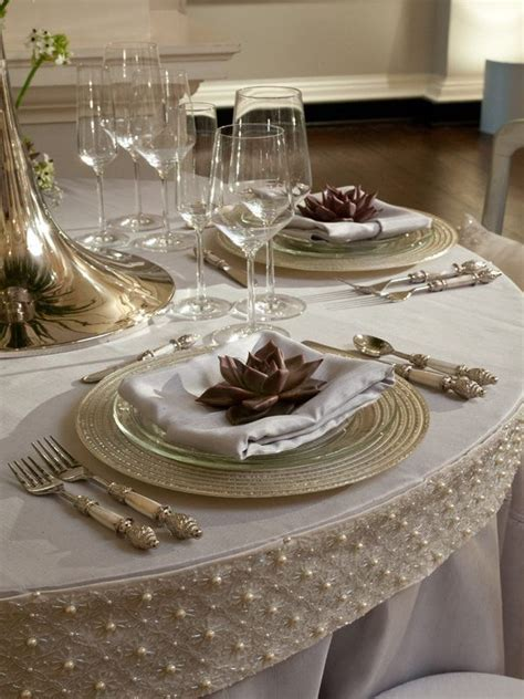 elegant table settings pin by jeanne caras on tables scapes table settings