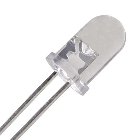 what material is used in the common 5mm led electrical