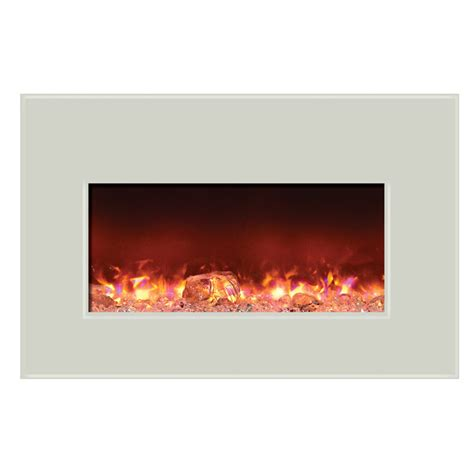 amantii electric fireplace insert w 40x26 in