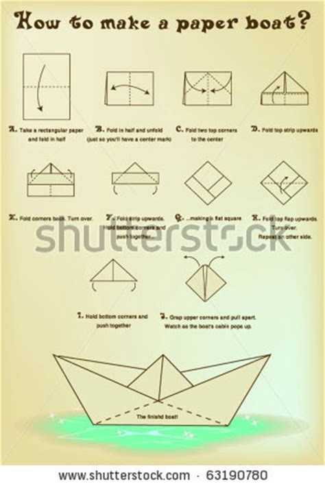 origami little boat instructions paper boat instructions gonna make this with heart paper
