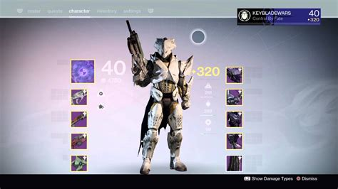 destiny 2 max light level destiny 320 titan max light level second character
