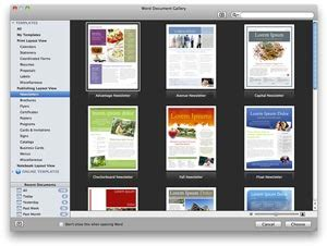 publishing layout view word word for mac 2011 create visually rich newsletters