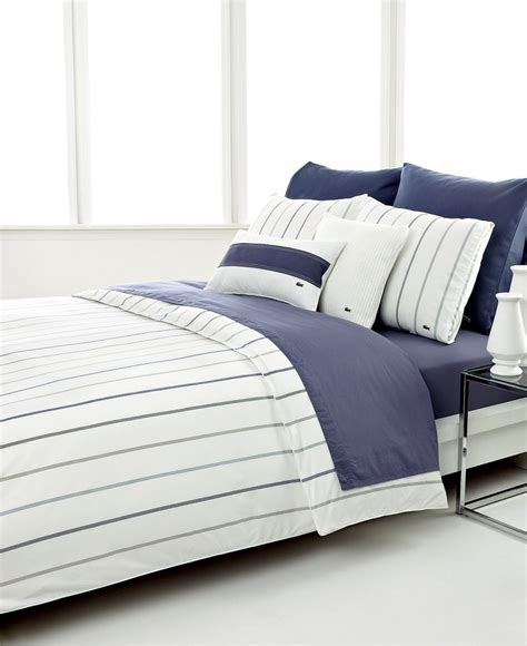 macys bed sheets closeout lacoste tucana comforter and duvet cover sets