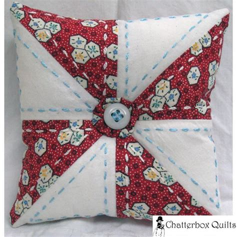 Free Patchwork Patterns For Cushions - free diy pin cushion pattern downloads on craftsy