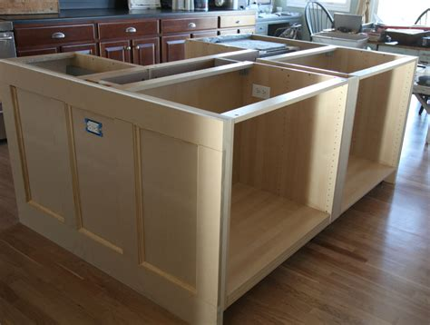 building a kitchen island with cabinets ikea hack how we built our kitchen island jeanne