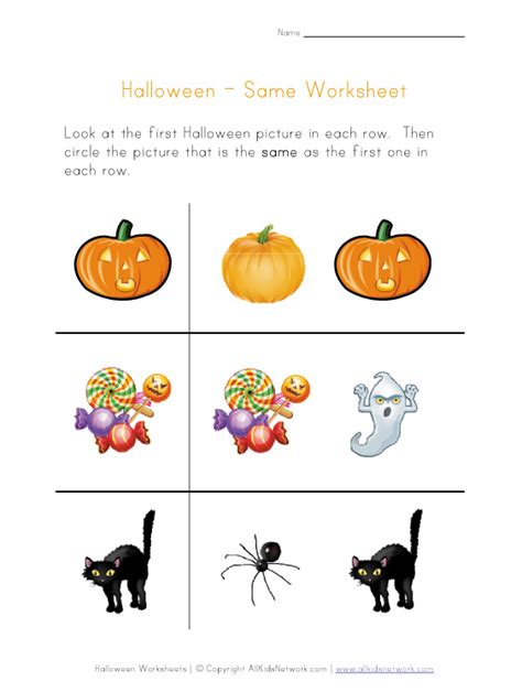 printable halloween worksheets for preschoolers halloween printables for preschoolers festival collections