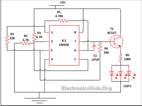 Dimmable Led Circuit Diagram
