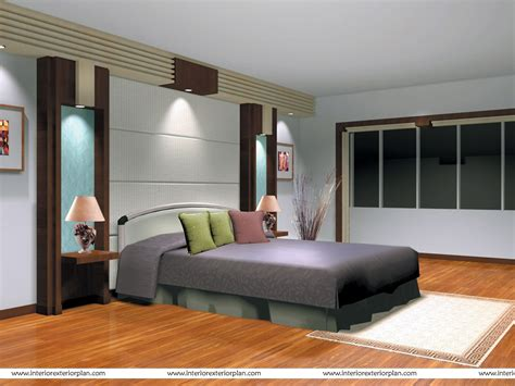 Interior Designs Bedrooms Interior Exterior Plan Streamlined Bedroom Design