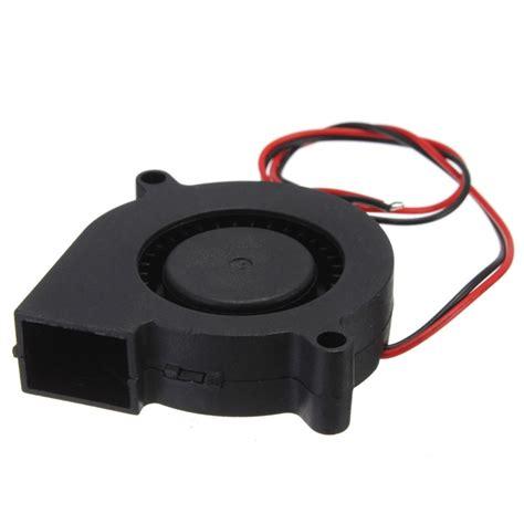 3d printer fan double 12v dc 50mm blow radial fan for electronic