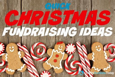 charitable christmas crafts themed fundraising ideas