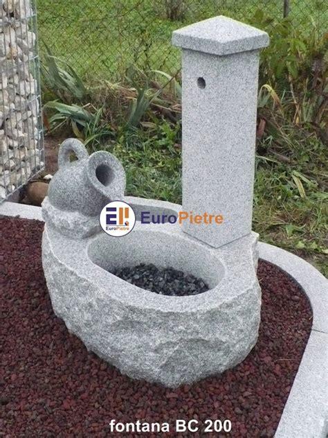 fontane da giardino in sasso fontane in pietra europietre cuneo
