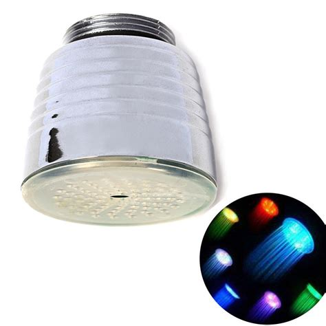 Water Light L by 7 Color Changing Led Light Water Glow Shower Spraying