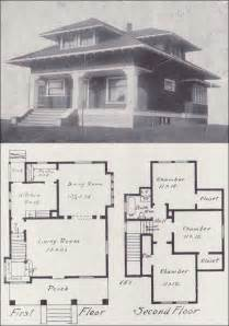 Old House Plans by Vintage 1908 Old House Blueprint How To Build Plans