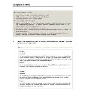 Complaint Letter To Advertising Company File Complaint Letter Images