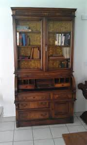 desk hutch bookcase furniture rustic desk with hutch glass door and