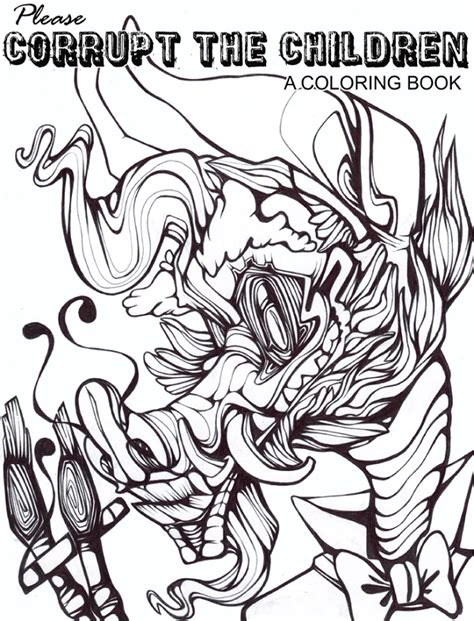coloring page book cover coloring book cover by malkyru on deviantart