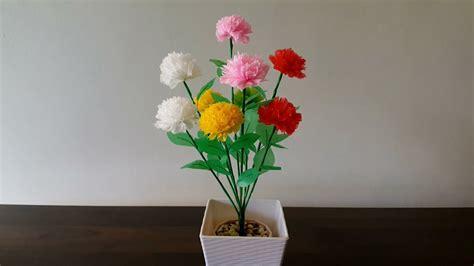 sederhana membuat bunga pompom  plastik kresek