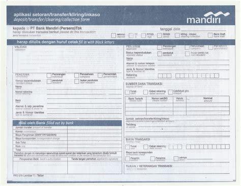 persyaratan membuat rekening di mandiri setoran awal membuat rekening mandiri ips kelas ix uang