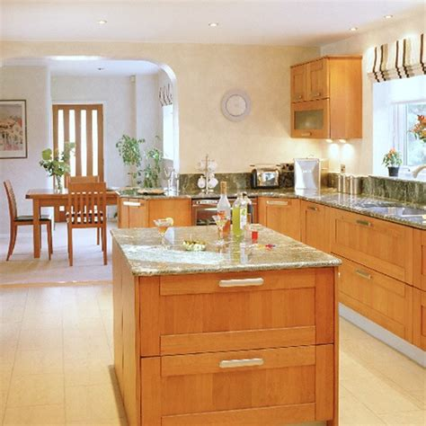 Wood Kitchen Design Modern Cherry Wood Kitchen Kitchen Design Housetohome Co Uk