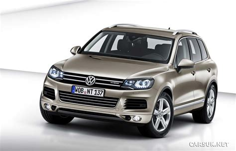 volkswagen touareg vw touareg 2010 2011 revealed