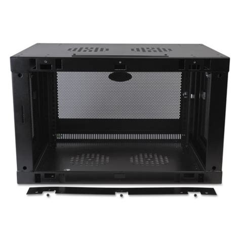 6u wall mount cabinet smartrack 6u wall mount rack enclosure cabinet thegreenoffice
