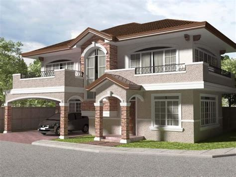 philippine 2 storey house designs 2 story house photos in the philippines bahay ofw